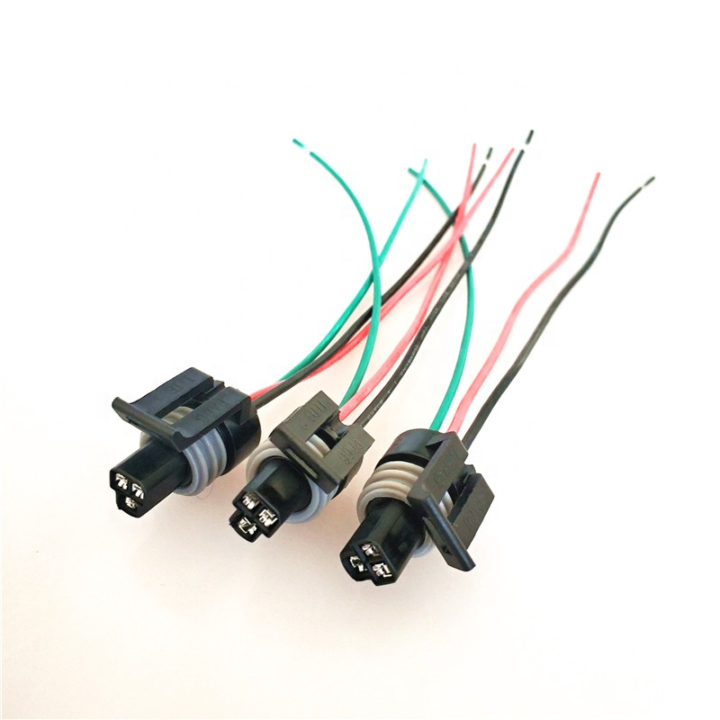 Factory Manufacturing Auto Car Wiring Harness 8 Pin Plug Socket