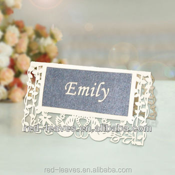 Hand Making High-end Table Card Wedding Guest Place Card Wedding - buy place cards