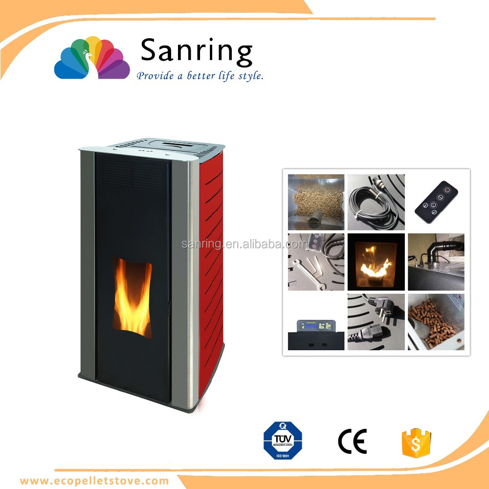 Pellet Kw 18 Kw Water Jacket Heating Pellet Stove With Back Boiler View Water Jacket Stove Sanring Product Details From Haining Sanring New Energy Equipment