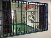 Window Grill & Wrought Iron Steel Glass Windowmetal Glass ...