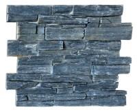 Hs-sn003 Black Color Artificial Brick Wall Panels ...