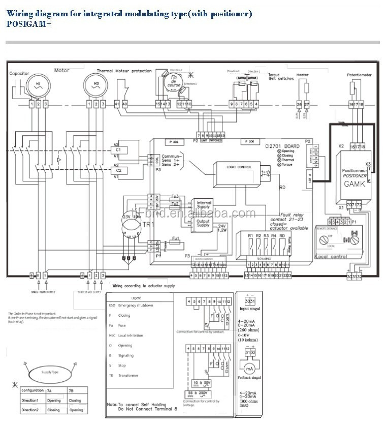 Bernard Electric Actuator Wiring Diagrams Actuator Parts, Actuator