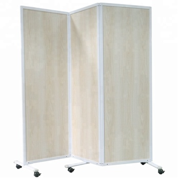 Custom Surface Aluminum Frame Partitions Mobile Stand Folding