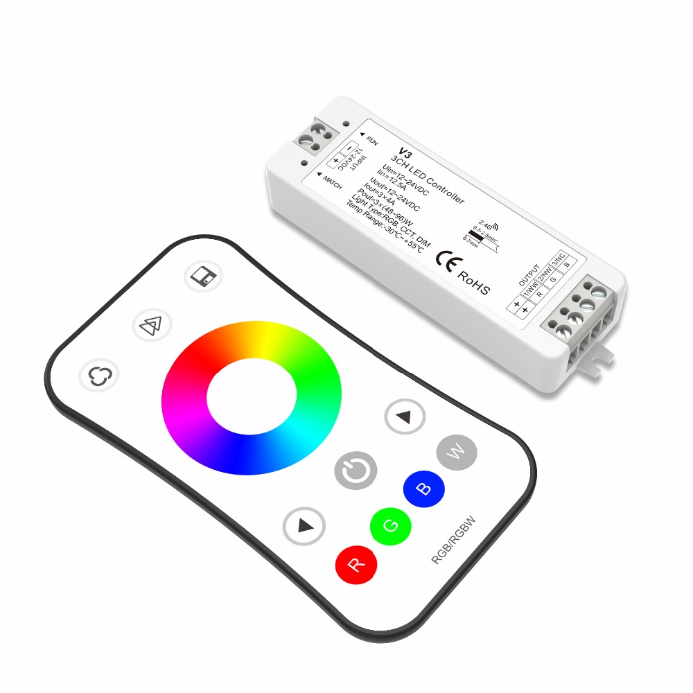 12v Led Controller Rgbw Controller 2 4g Led Rf Touch Programmable Remote Dimmer 12v Buy Led Touch Dimmer Touch Dimmer 12v Rgbw Controller Product On Alibaba