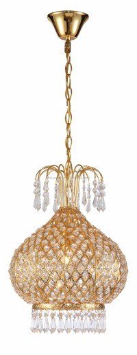 Indoor Crystal Hanging Lamp Luxury Pendant Lamp Party ...