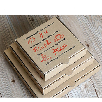 Custom Printed Clear 8 9 10 Inch Packaging Pizza Box - Buy 8 Inch