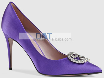Violet Pointed Toes High Heel Women Pump Dress Shoes Buy