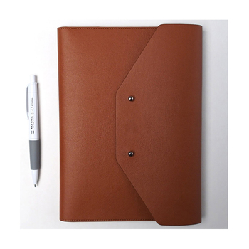 Cow Leather Warehouse Men Women Handmade Office Folder Multipurpose
