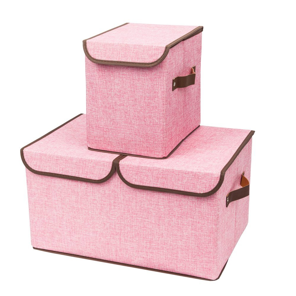 Pink Bins Cheap Pink Fabric Storage Bins Find Pink Fabric Storage Bins