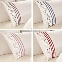Embroidery Lace Bedsheet Set Made In China Bedsheets ...