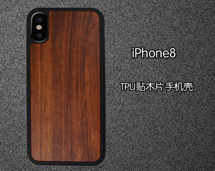 For Iphone X Wooden Case / Rosewood Case For Iphone X Back Cover - rosewood case
