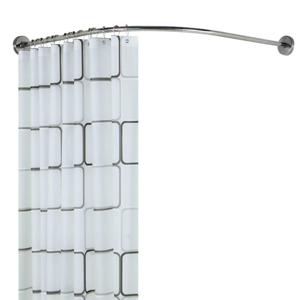 Telescopic L-shaped Shower Curtain Rod Cheap L Shaped Shower Rod Find L Shaped Shower Rod Deals On Line