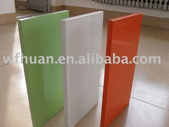 Mdf Pressed 045mm High Gloss Pvc Foil Cabinet Door Buy