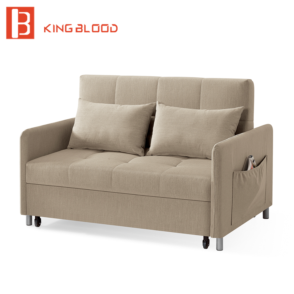 Folding Bed Couch Living Room Storage Box Sofa Bed Sofa Footrest