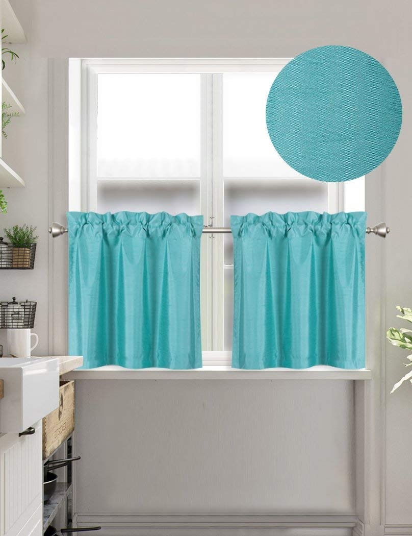 24 Inch Kitchen Curtains Cheap Teal Window Curtains Find Teal Window Curtains Deals On