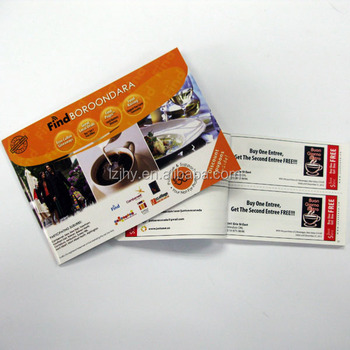 Custom Printing Coupon Book Supplier Discount Booklet Printing - Buy - Coupon Book Printing
