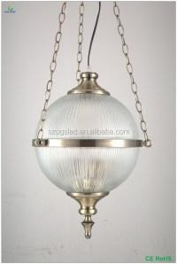 Bulb Shaped Glass Crystal Globe Ball Pendant Lamp - Buy ...