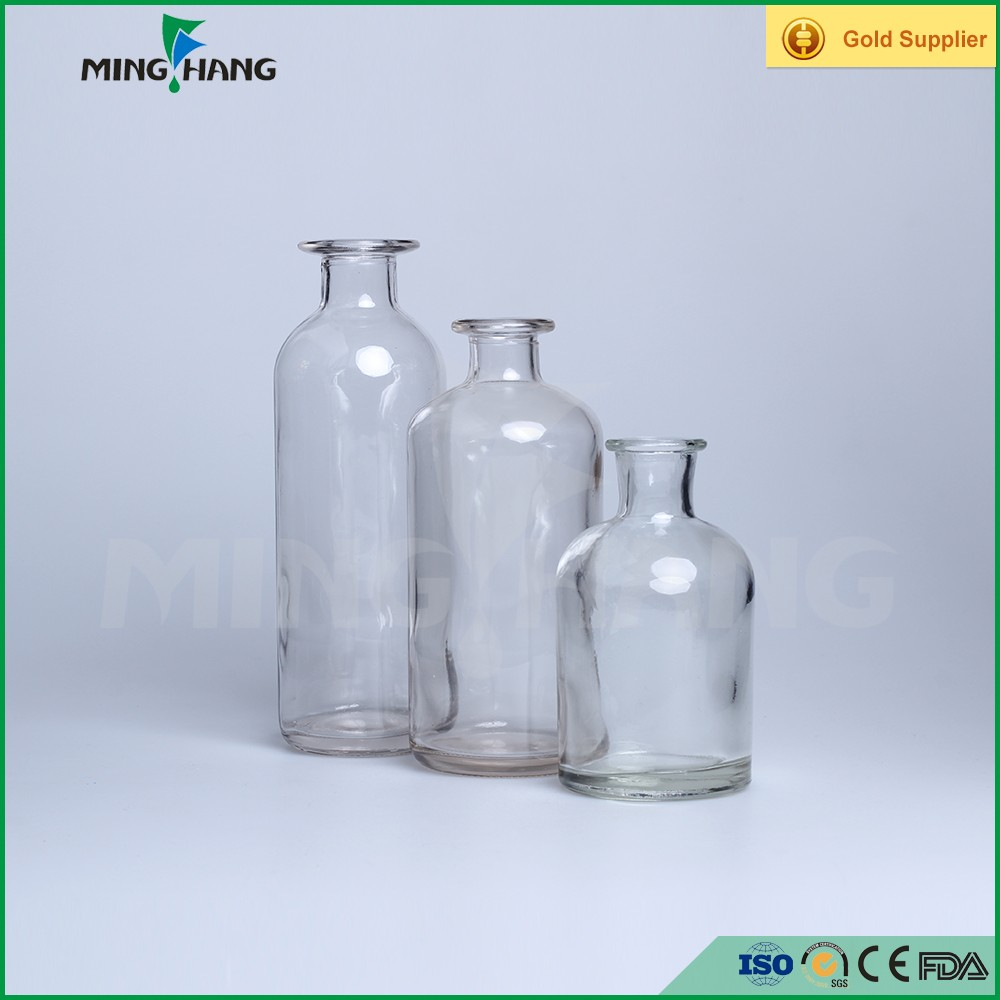 Wholesale Empty Glass Aroma Perfume Reed Diffuser Bottles