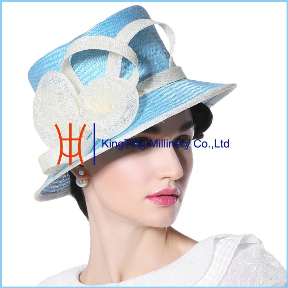 Wholesale Cheap Straw Cowboy Panama Hat For Church Womens
