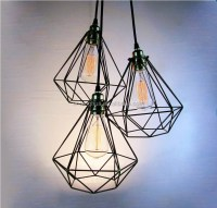 [wire cage pendant light] - 28 images - handcrafted ...