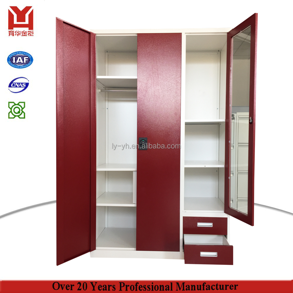 Box Room Wardrobe Luoyang Metal Dismantle Bedroom Wardrobe Design Iron Wardrobes With Safe Box Inside Buy Steel Closet Bedroom Wardrobe Iron Wardrobe Product On
