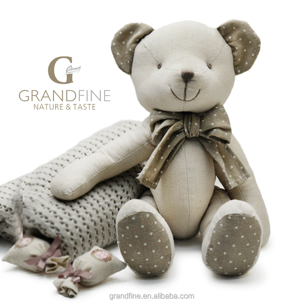 Baby Newborn Teddy Luxury Linen Cotton Fabric Stuffing Teddy Kid Baby Bear Doll For Baby Doll Newborn With En71 Test Report And Ce And Reach Docs Buy Reborn Newborn