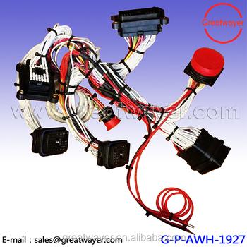 Deutsch Drc 50pin / Cat Engine Wiring Harness / Catepillars 3441077