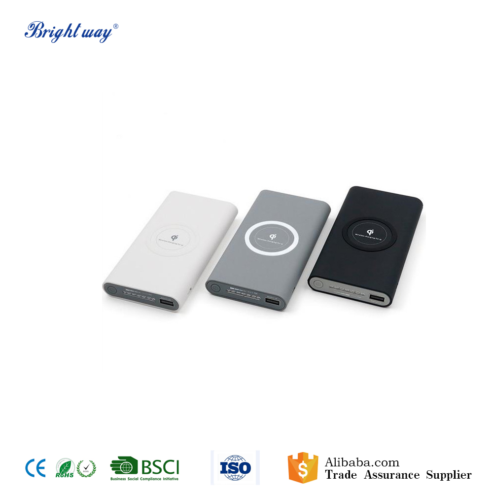 Wireless Battery Charger 10000mah Rechargeable Battery Charger Qi Wireless Power Bank Buy Wireless Power Bank Product On Alibaba