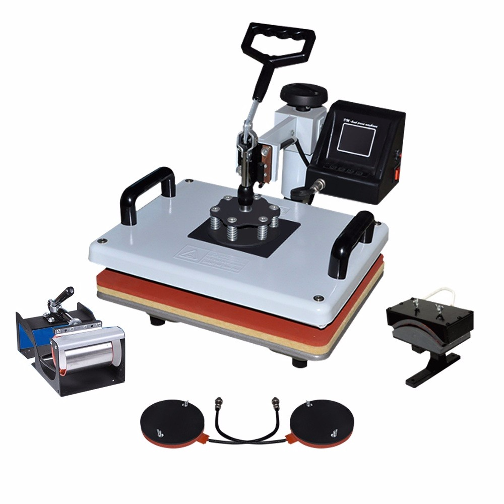 Sublimation Press 5 In 1 Combo Mug Heat Sublimation Transfer Press Machine Sb400a Buy 5 In 1 Combo Heat Press Machine T Shirt Printing Machine Mug Heat Press Product