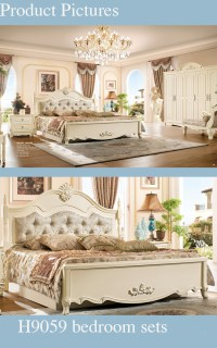 High End Classy Country Style Solid Wood Used Bedroom ...