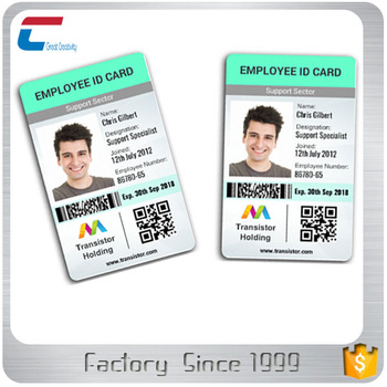 sample employee id card/student id cards, View sample employee id