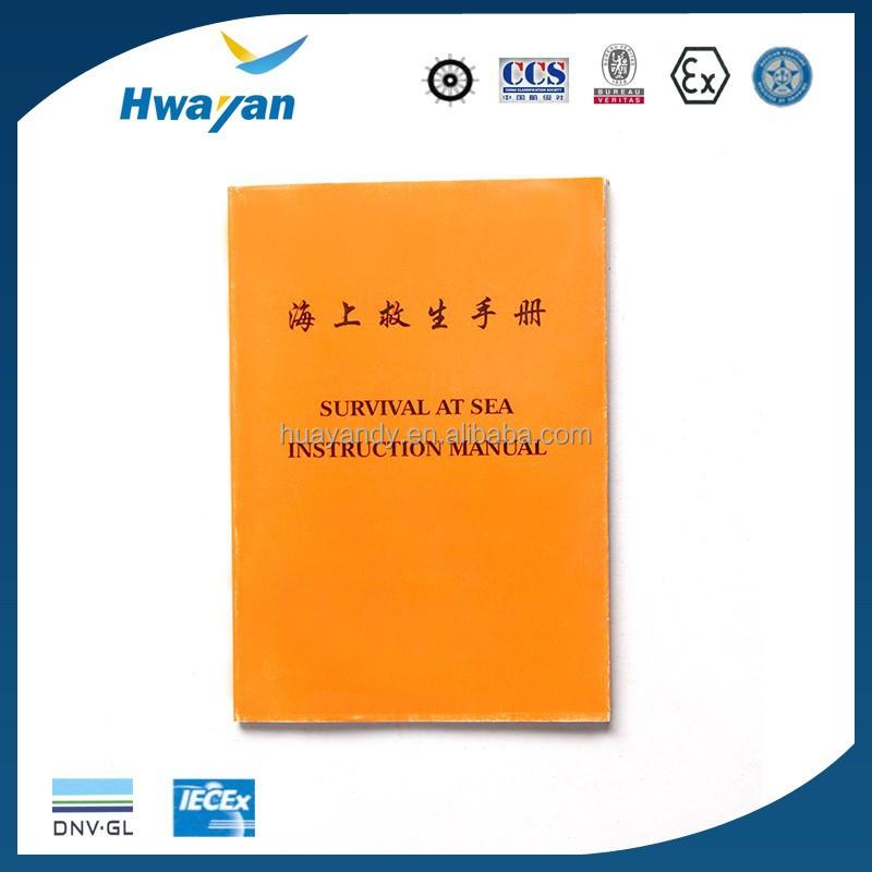 Survival At Sea Instruction Manual For Seaman - Buy Instruction - instruction manual
