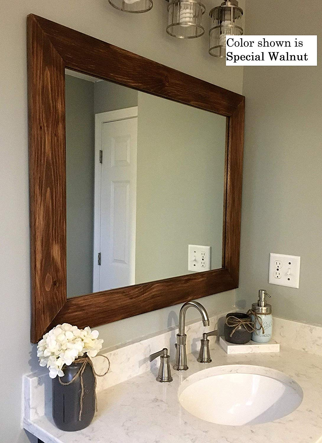 Cheap Bathroom Wooden Framed Mirror Find Bathroom Wooden Framed Mirror Deals On Line At Alibaba Com