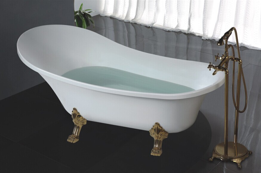 Freestanding Japanese Soaking Tub