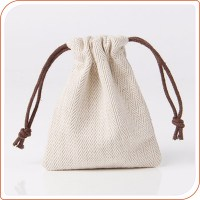 Small Jute Burlap Cosmetic Gift Drawstring Bag - Buy Jute ...