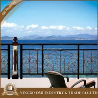 Wrought Iron Balcony Railing Wood And Metal Designs For ...