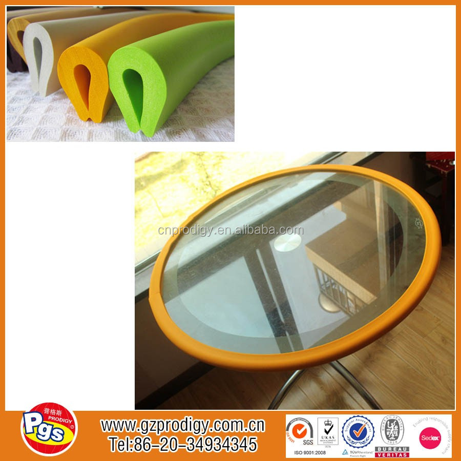 Protege Table En Verre Nouveaux Produits De Sécurité Pour Enfants Bébé Épaississement Crash Bar Table Basse En Verre Enfant Bande De Protection Protecteur De Coin De