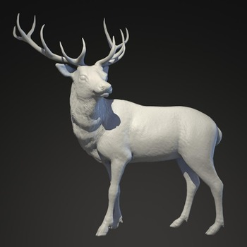 3d Wallpaper Made In China Life Size Resin Christmas Reindeer Statue For Sale Buy