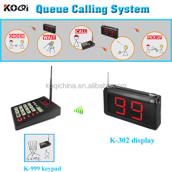 Order Taker Electronic Restaurant With Show 2-digit Number Display