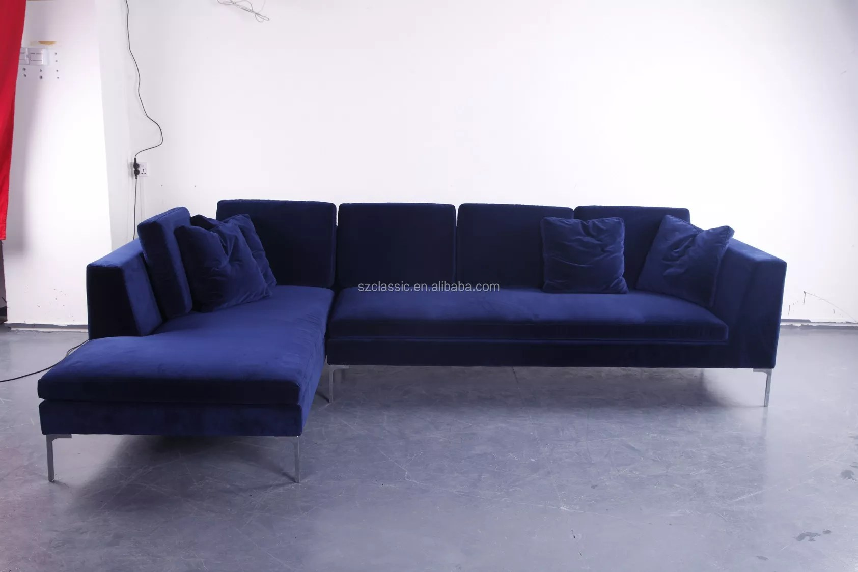 Antonio Citterio City Sofa Antonio Citterio Design Modern Sectional Navy Blue Velvet B B Italia Sofa Charles Reproduction Buy B B Italia Sofa B B Italia Sofa Charles B B