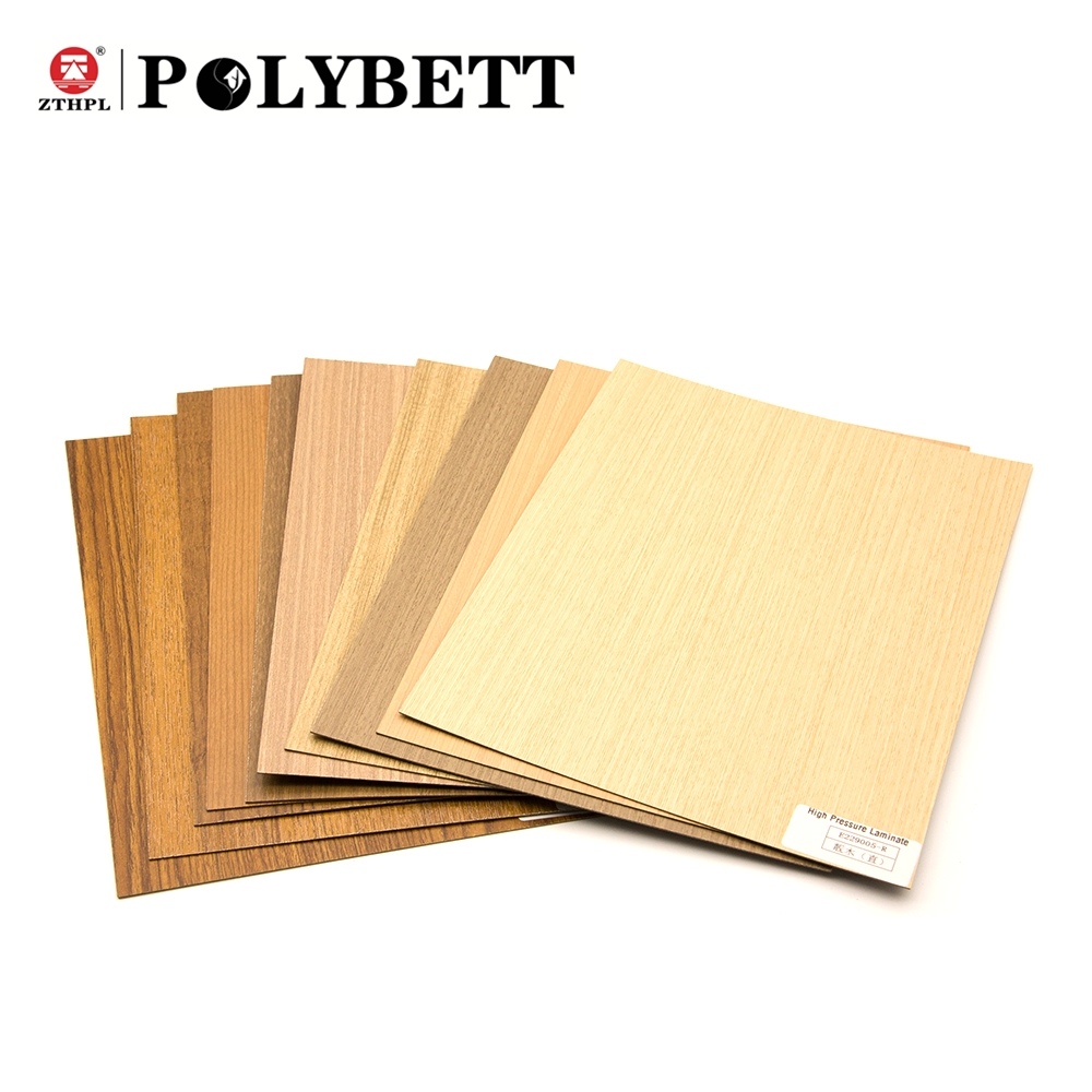 Hpl Platen Commercial 4 3 X9 Wood Grain And Solid Color Melamine Hpl High Pressure Laminate Sheets For Kitchen Cabinet