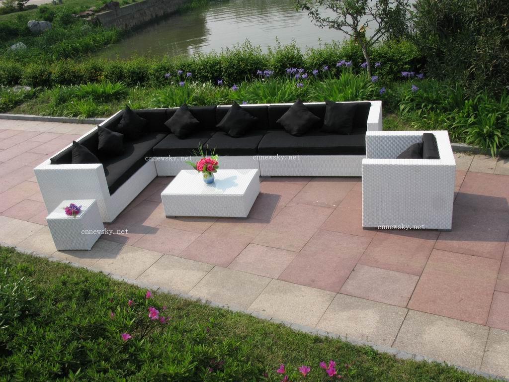 Salon D Angle Jardin | Salon De Jardin D Angle En Bois Maison ...