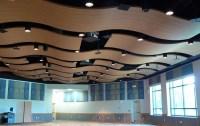 Hospital Materials Nigeria Pop Wavy Design False Ceiling ...