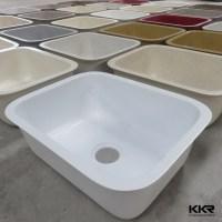 Fancy Resin Stone Undermount Drop In Kitchen Sink - Buy ...