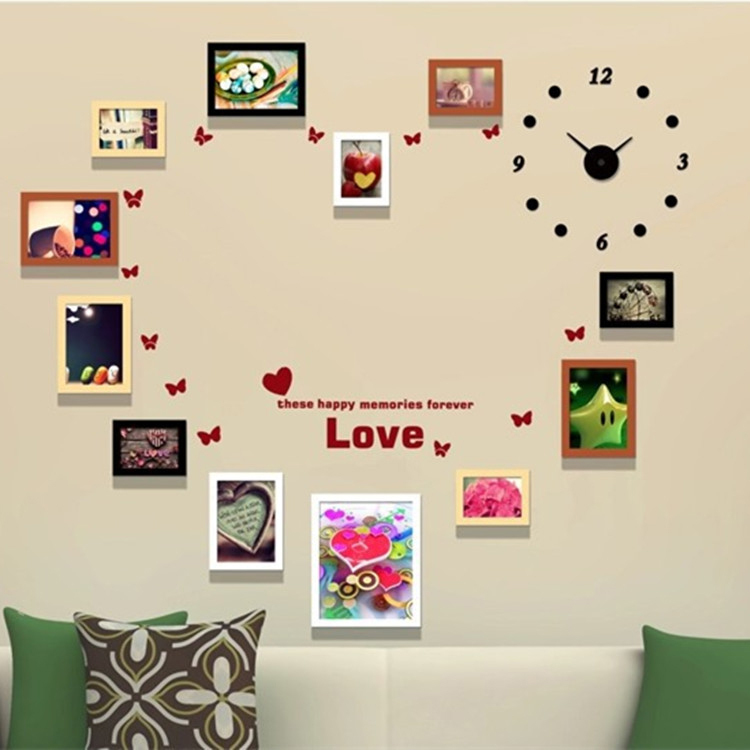 Wall Hanging Photo Frames Designs - Home is Best Place to Return - word design frames