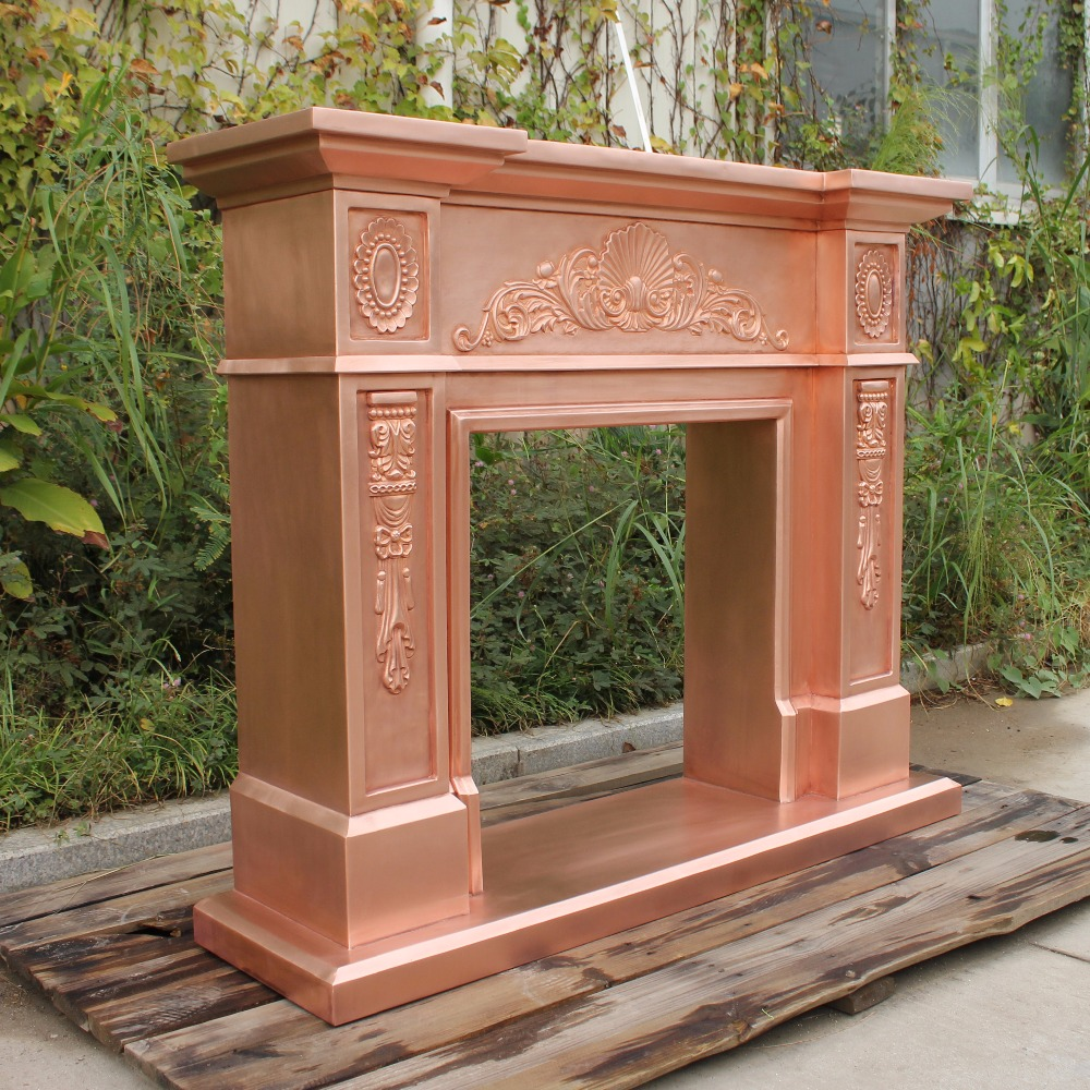 Copper Fireplace Mantel The European Modern Copper Fireplace Handmade Fireplace Molds Mantel Insert Cf 003 471340 A Sm Np Orbes Buy The European Modern Copper