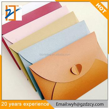 Mini Heart Butterfly Style Letter Envelopes Card Holder Greeting