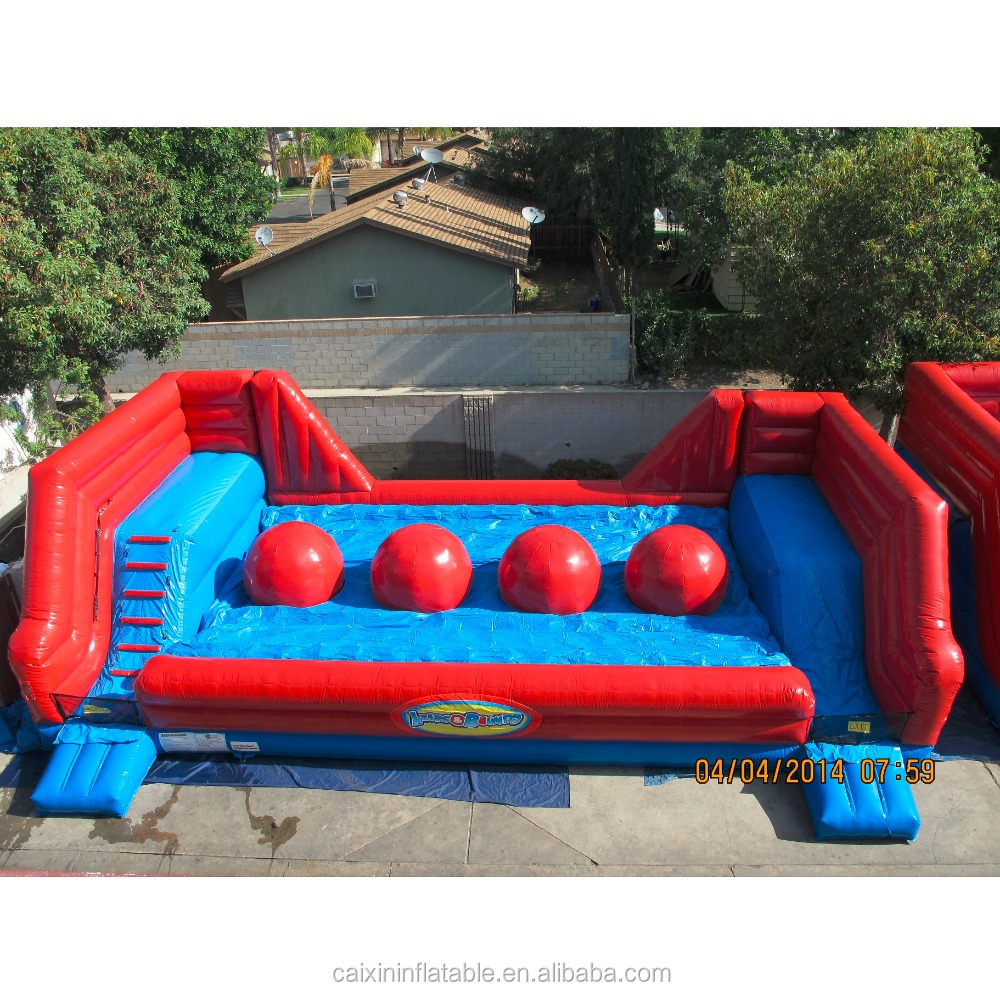 Big Inflatable Couch The Wipeout Red Balls Big Baller Leaps N Bounds Inflatable Interactive Obstacle Course Buy Wipeout Red Balls Inflatable Baller Leaps Inflatable