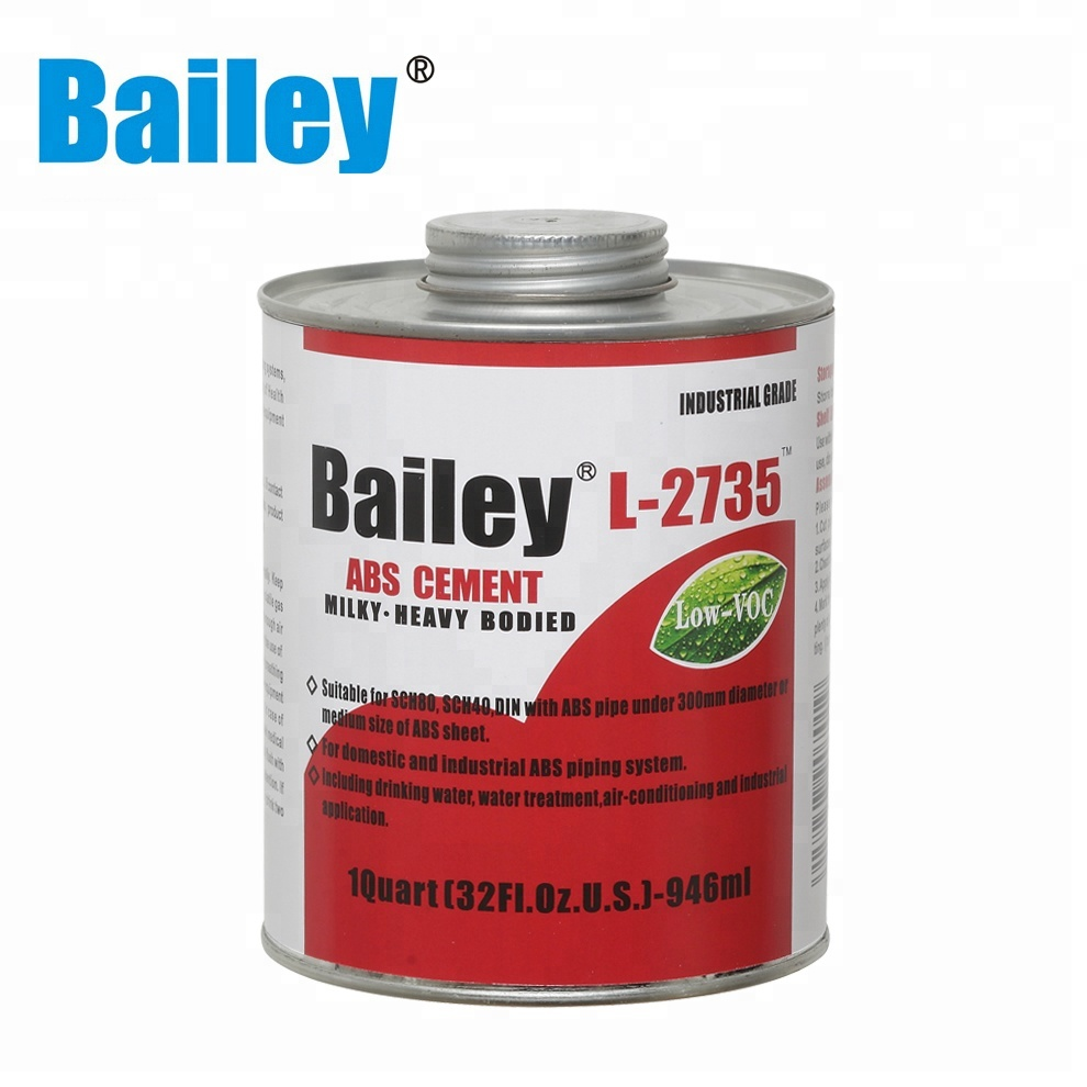 Abs Glue Milky Nsf Abs Pipe Solvent Cement Glue L 2735 For Industrial Abs Pipes And Fittings View Abs Pipe Solvent Cement Bailey Bailey Product Details