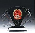 custom crystal trophy cup medal